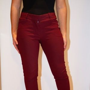 Wilfred Pants - Burgundy - Size 2